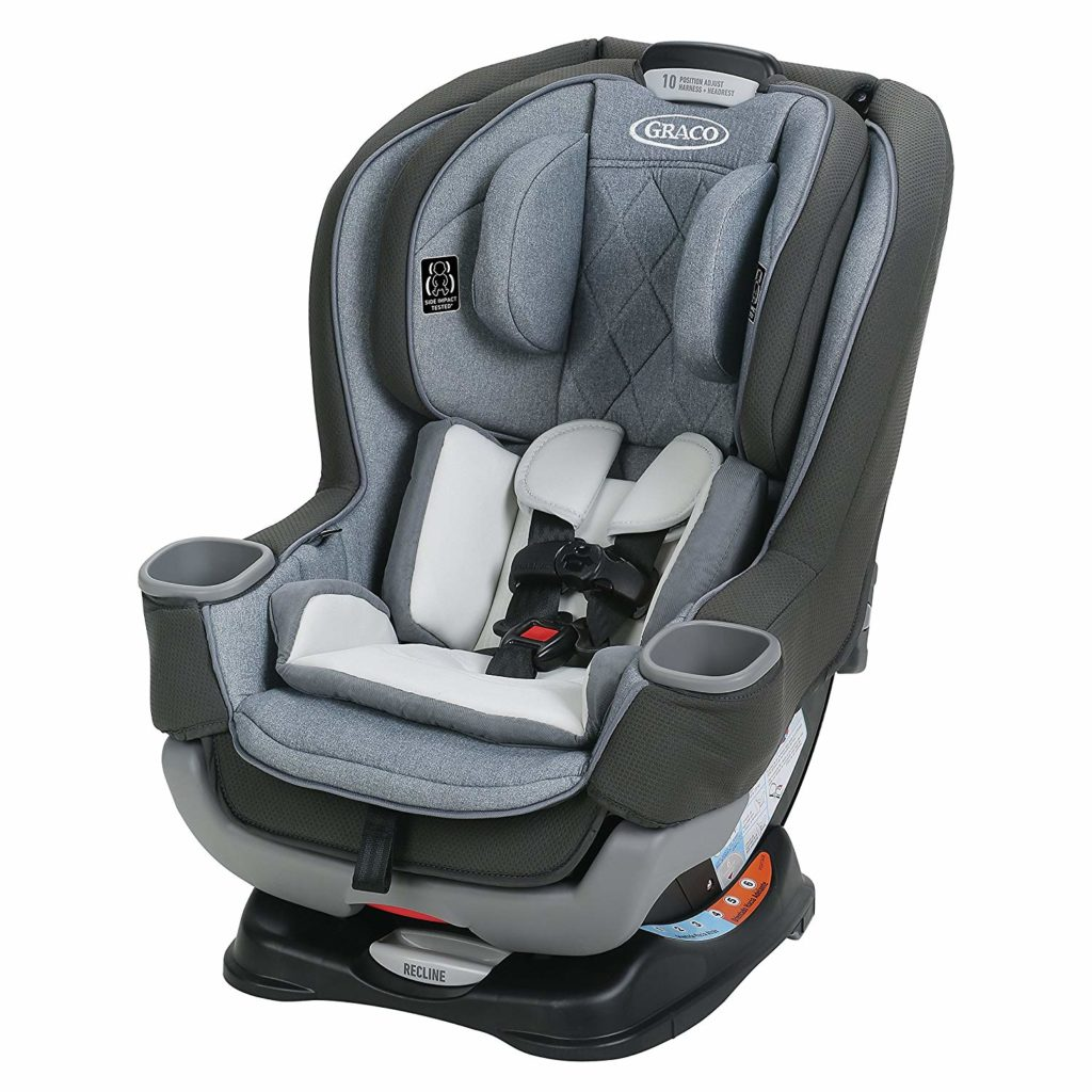 Graco Extend2Fit Platinum Convertible Car Seat
